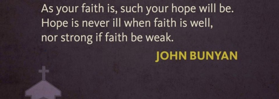Strong Faith - Bunyan